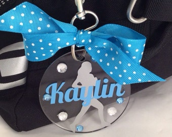 Runner Bag Tag, Personalized, Gifts for Runners