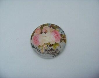 Pink Roses 40 mm Art Print Cab 3657