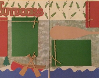 Great Outdoors 2 page kit