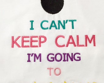 Going To Disney Keep Calm Tee Vacatoin Anoucment Shirt