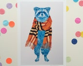 Couture Bandits (Burberry) / Signed print by Niki Pilkington