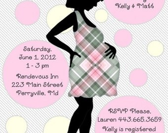 20 Personalized Baby Shower Invitations Envelopes Included
