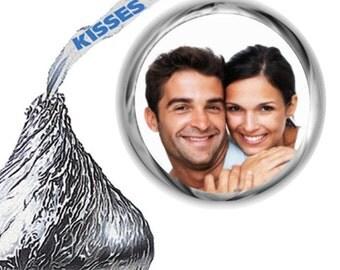216 Photo Bridal Shower Hershey Kiss Stickers
