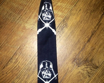 Star Wars/Dark side/boys tie/glows in the dark/Darth Vader/ perfect for pictures!