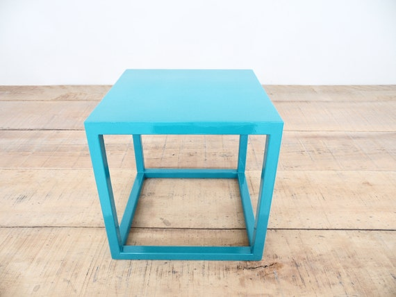 Items similar to 12 cube table base steel cube coffee - Cube table basse ...