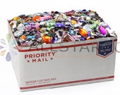 The Craft Bulk Box Crafting Flat Back Gems Rhinestones, Acrylic Cabochons Over 10LBS For Scrapbooking and Embellishments