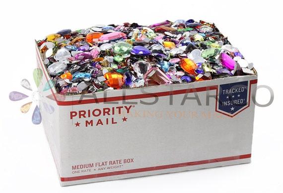 the craft bulk box crafting flat back gems rhinestones