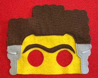 Lego Movie Business Man,  President Business  masks for children party favor