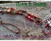 Flora & Fauna-Honeybee Pendant Necklace OOAK