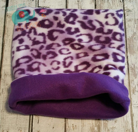 Fleece Cozy Cup Snuggle Sack Bed Guinea Pig By Rajadesigns