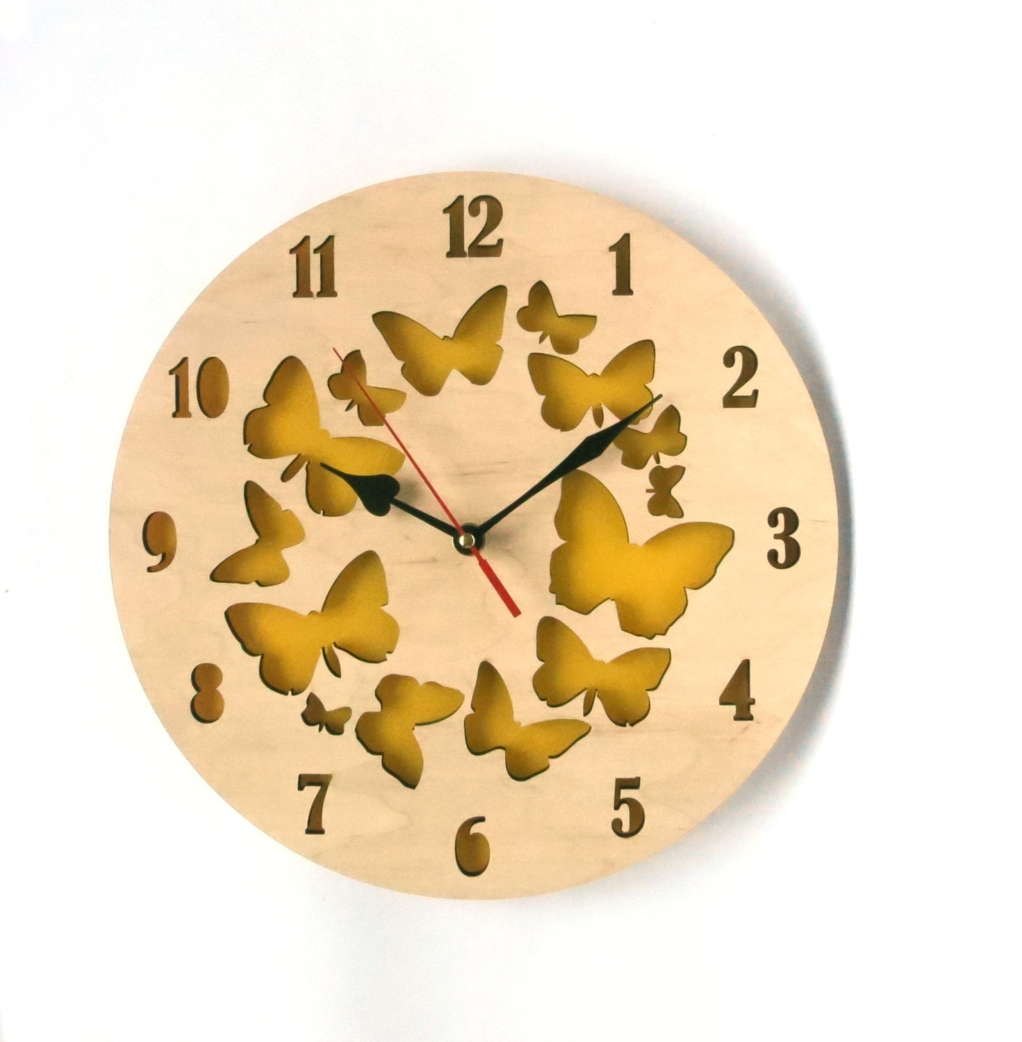 Sale Modern Wall Clock Large Wall Clock Mother 39 S Day By