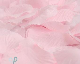 300 piece silk rose petals light pink