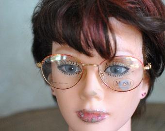 Vintage MONET RED MARINE ladies frames ....