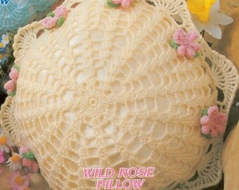 Crochet Doily Pillow Pattern