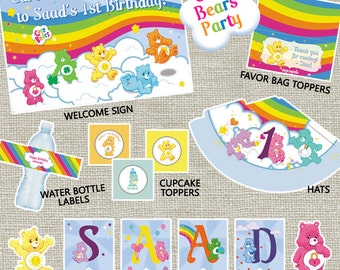 Care Bears Party Pack (PRINTABLE)