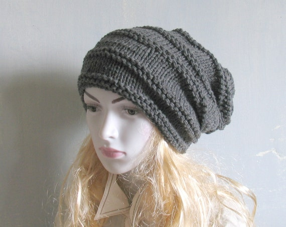 GreyHat, Rasta Tam, Dreadlocks Hat Brige Mens Slouch Hat ... Dreadlock Hats For Men