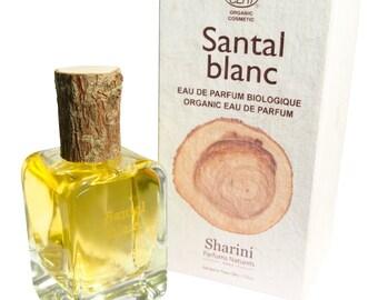Santal blanc 50ml Eau de Parfum - Organically certified, hand crafted Perfume