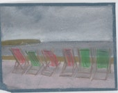Deck Chairs, drawing