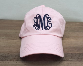 Ladies Monogrammed Baseball Cap | Multiple Colors