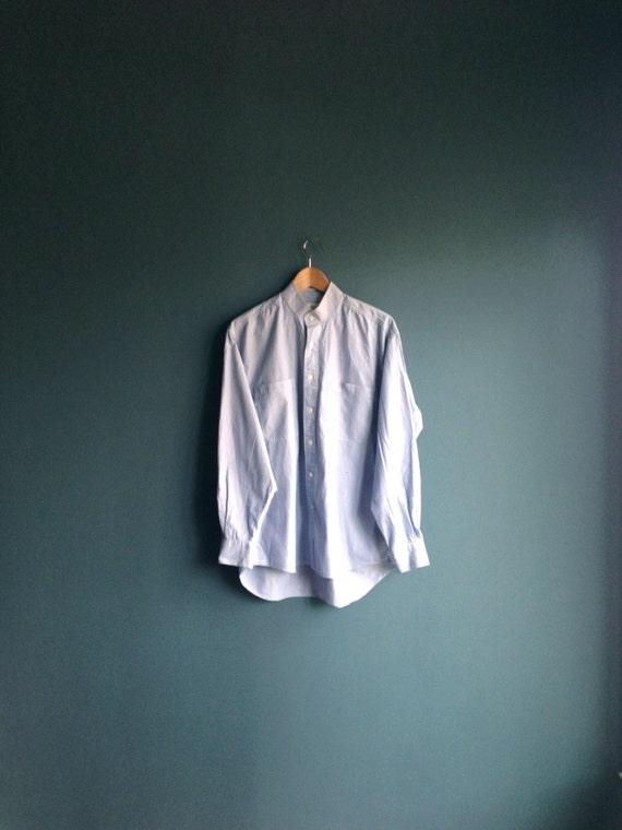 Christian dior mandarin collar buttonup shirt by for Christian dior button up shirt