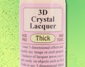 Thick 3D Crystal Lacquer Dimensional Glaze Sakura 4 Ounce Bottle DIY Crafts DIY Craft Jewelry Scrap Booking Free Shipping