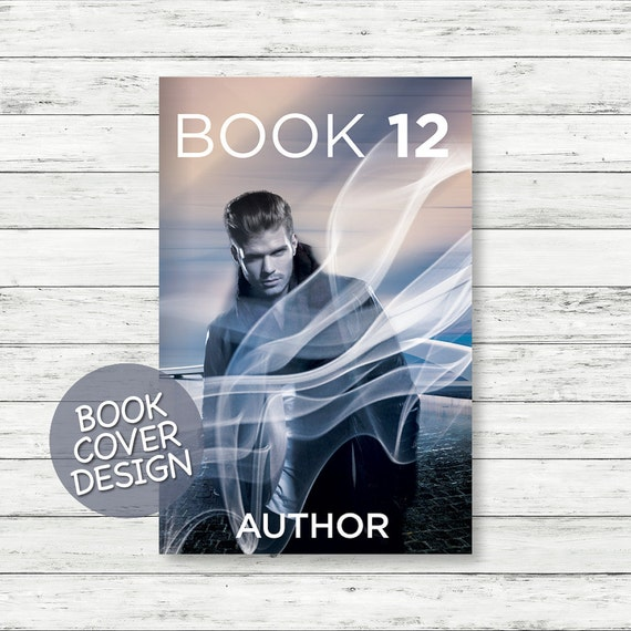 Book cover design / ebook cover / kindle cover / cover design for print / thriller novel cover + matching back cover + spine design