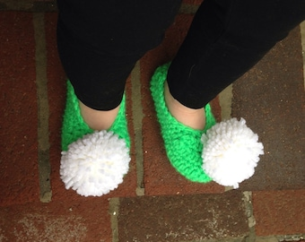 Slippers - Toddler to Adult, Tinkerbell, Pom Pom