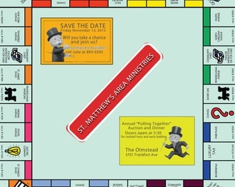 Monopoly Party Digital Invitation Only