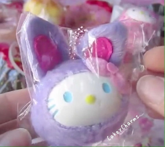 Squishy Bunny Etsy : RARE Kitty Purple Bunny Squishy