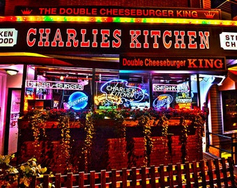 Charlies Kitchen Harvard Square, Harvard Square Photography, Harvard Square Print, Boston Photography, Boston Print, Charlie's Kitchen