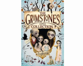 Childrens books - The Grimstones Collection - 4 illustrated novels in 1 for ages 8-13