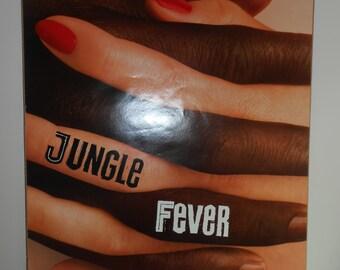 Jungle Fever (1991) Original 2 Sided Movie Poster Wesley Snipes Spike Lee 27x40