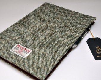 Harris Tweed A4 Notebook cover - Simple (A4 notebook included)