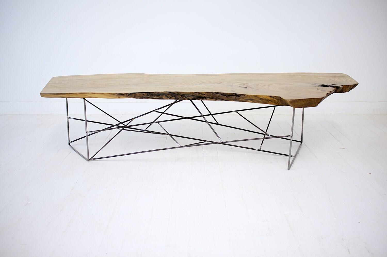 Modern Wood Slab Coffee Table Images