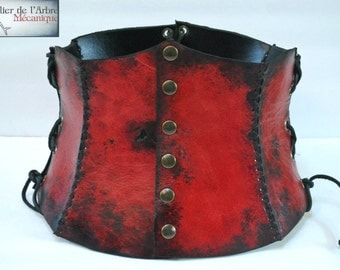 Tall Red Belt Corset