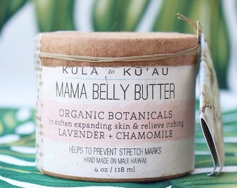 Mama Belly Butter, Organic, Pregnancy, Postpartum, Stretch Marks, Baby shower,