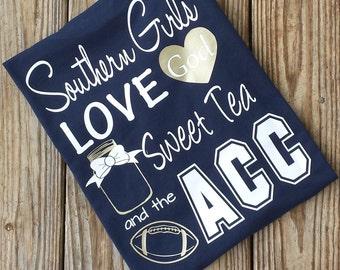 Southern Girls ACC Shirt - Georgia Tech