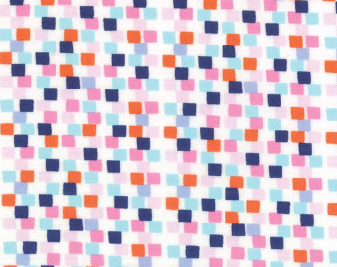 One Yard Daydreams - Memory in White Ink - Cotton Quilt Fabric - designed by Kate Spain for Moda Fabrics - 27177-24 (W2780)