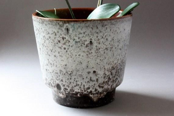 60er 70er blumentopf vintage bertopf keramik keramiktopf for Blumentopf keramik