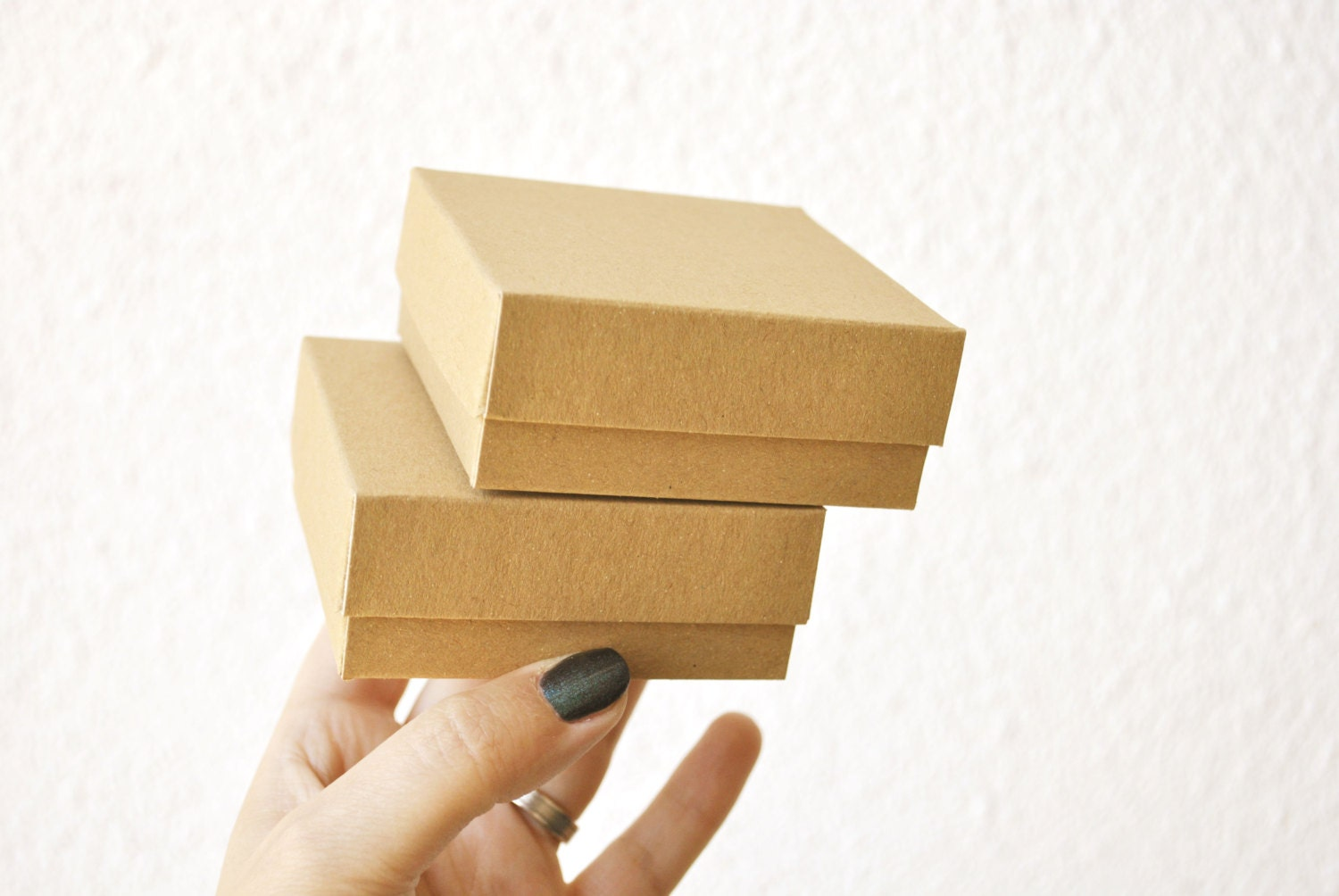 20 boxes with lid i small jewelry boxes with lid i card stock for Small cardboard jewelry boxes with lids