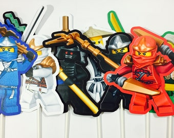 x8 Ninjago Characters Inspired Centerpieces