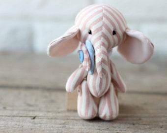 elephant toy animal child game stuffed sewn toy elephant