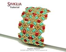 Tutorial Seville Bracelet-beading pattern