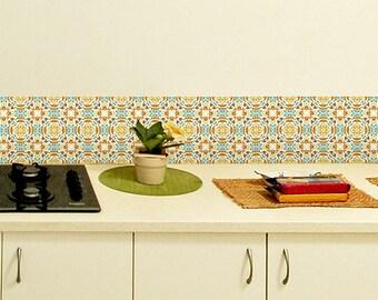tile decals set of 18 tile stickers for kitchen backsplash