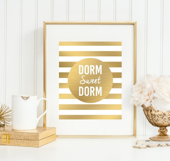 Items similar to dorm decor 39 dorm sweet dorm 39 college wall College dorm wall decor
