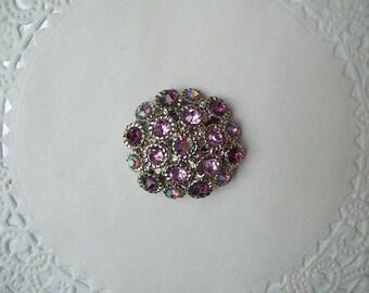 Jeweled Refrigerator Magnet (467) - Rhinestone Magnet - Aurora Borealis Magnet - Aurora Borealis Rhinestone - Jeweled Magnet