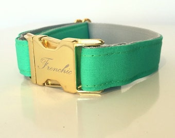 "Adjustable dog collar ""Sprout"""