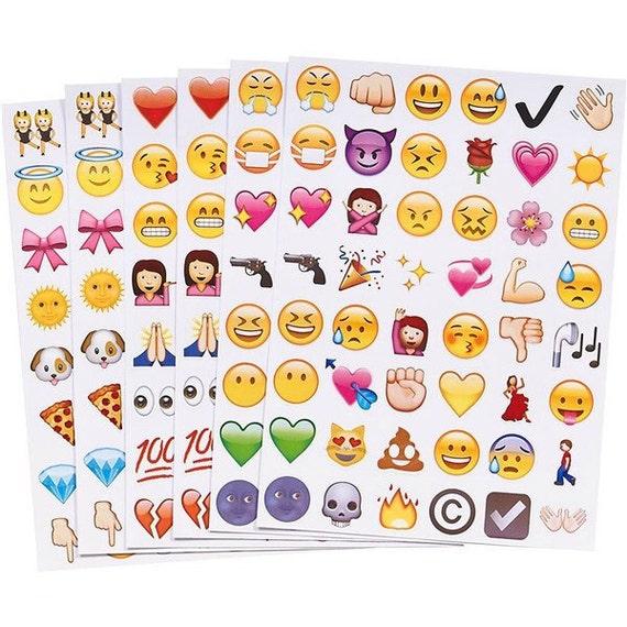 Jumbo Emoji Stickers Pack