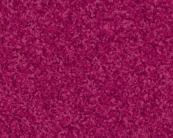 Magenta Purple Solid Textured Fabric - Quilting Treasures QT Basics Color Blend - 23528 PM - 1/2 yard
