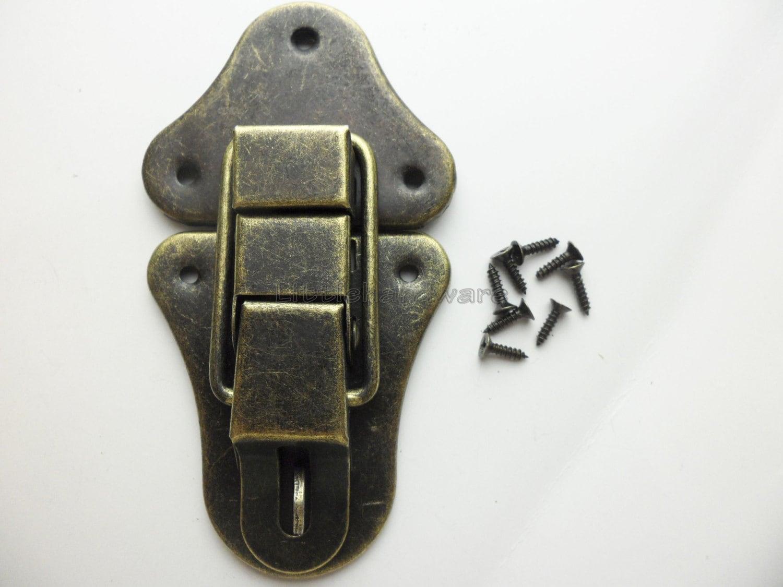 52mmx95mm Lock Latch Small Box Hardware Jewelry Box Latch Gift
